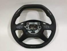 AMG carbon fiber steering wheel Mercedes Benz