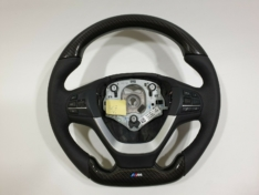 Carbon fiber BMW steering wheel