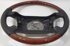 BMW wood steering wheel