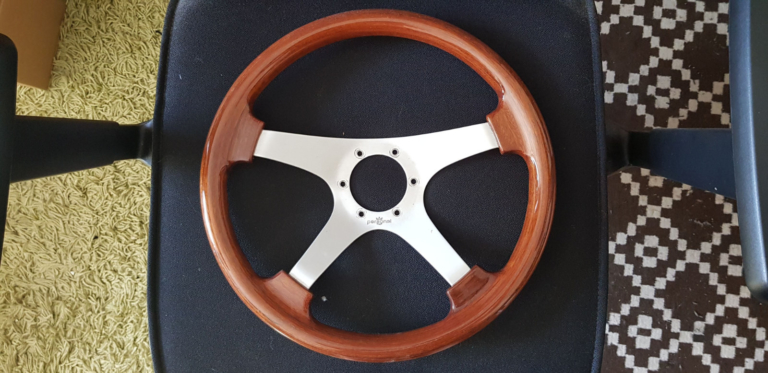 Steering wheel restoration before/after gallery, Lithuania, Ukmergė