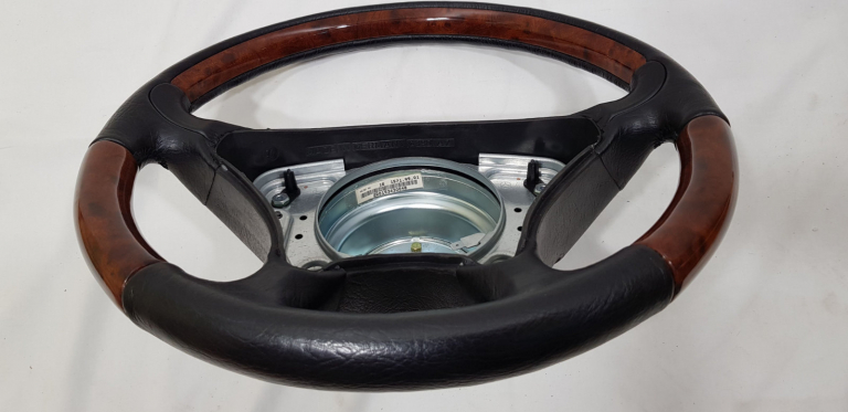 Mercedes benz steering wheel restoration before after, Belgium